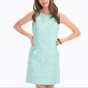 Southern Tide Paislee Ikat Jacquard Dress